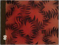 Op den uitkijk zit ik hier, en dat geeft mij veel plezier / [door Maria Braun] #pattern #book #cover #foliage #dutch