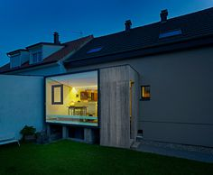 Small, Yet Extremely Creative Home Extension in France by Loïc Picquet Architecte