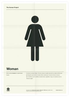 The Human Project (Woman) Poster #inspiration #creative #design #graphic #grid #system #poster #typography