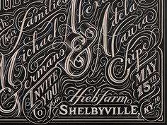 Dribbble - Alex & Adela by John Passafiume #type #lettering #script