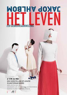 ❦ Jakop Ahlbom www.pepijnrooijens.com #design #poster #theater