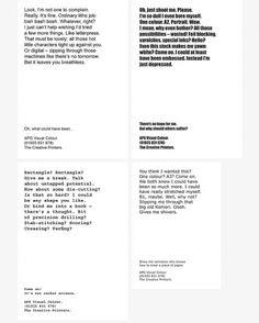Matt Maurer #of #tone #voice #typography