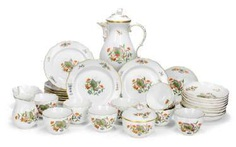 Coffee Service for 9 people #porcelain