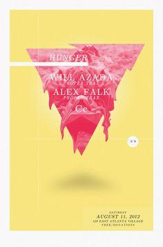 Hunger #concertposter #poster #concert #show
