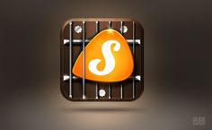 Songful App on Behance #music #design #app #icon