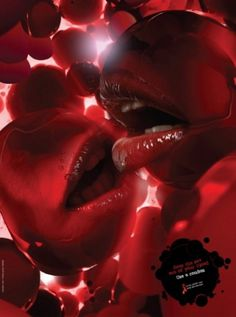 I Believe in Advertising | ONLY SELECTED ADVERTISING | Advertising Blog & Community » Israel Aids Task Force: Lips #advertising