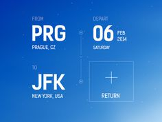 Flight Booking App Concept #inspiration #flight #ux #design #ui #app