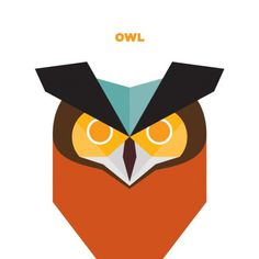 365 - Jag Nagra: Graphic Design for Print: Vancouver #owl #wildlife #bird #illustration #animal