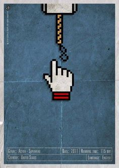 H-and Movie #movie #superhero #and #asgard #design #gerald #vintage #poster #web #bear #hand #action