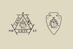L A N D #logo