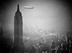 75 Years Since The Hindenburg Disaster - In Focus - The Atlantic #photography #zeppelin #manhattan #hindenburg