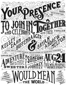 Typeverything.com, Drew Melton #lettering #typography