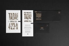 PICA Event Collateral #save #date #the