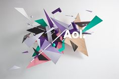 AOL. Artists #artits #aol #julien #design #valle