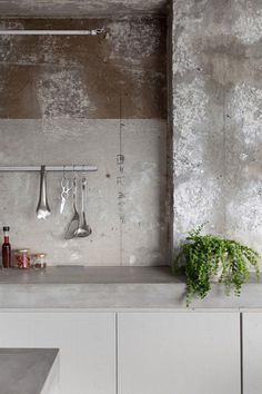 Concrete apartment #concrete