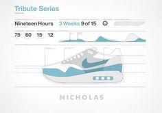 grain edit · Matt Stevens: Nike Air-Max-A-Day Illustrations #max #air #shoe #tribute #nike #illustration
