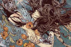 Days Of Transcendence on Behance #illustration