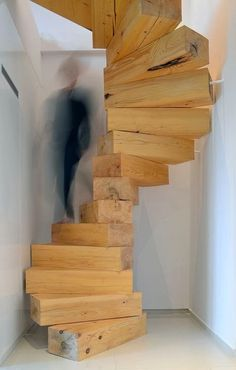 30 Wooden Types of Stairs for Modern Homes #stairs #staircase #stair