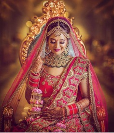 21 Real Brides Who Left Us In Awe With Their Classy & Fabulous Dulhan Makeup For Wedding!