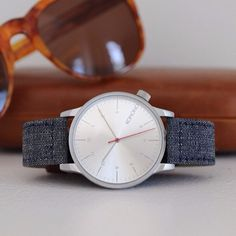 Winston Heritage Chambray Watch by Komono #tech #flow #gadget #gift #ideas #cool