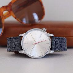 Winston Heritage Chambray Watch by Komono