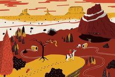 Sam Brewster | BLDGWLF #western #illustration