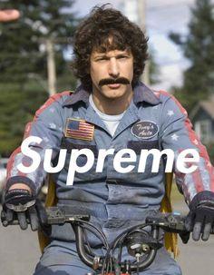 Supreme Moustache #moustache #supreme