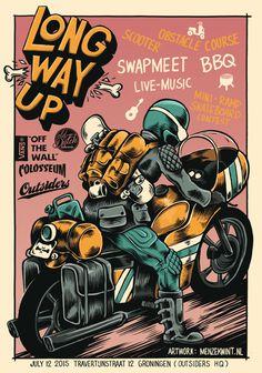 moto poster by menzekwint