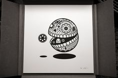 Pop-Culture Calavera Prints | Colossal #white #koshi #black #illustration #jonathan #and