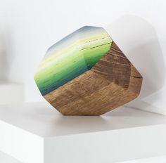 Victoria Wagner | PICDIT #wood #sculpture #color #art