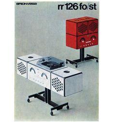 grain edit · Brionvega Brochures #poster #industrial #italy #1970s