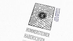 Honey from Hummerstein/Germany Stamp #logo #stamp #rugged