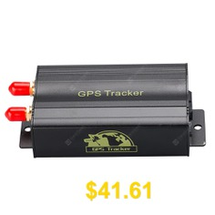 TK103B #GPS #SMS #GPRS #Vehicle #Tracker #Locator #- #BLACK