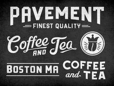 Dribbble - Pavement Platter Cut by Richie Stewart #type #typography