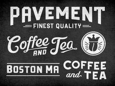 Dribbble - Pavement Platter Cut by Richie Stewart #type #typography