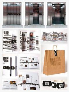 Matt Maurer #type #chains #letterpress #identity
