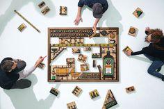 Jagermeister 56 Parts Puzzle Campaign – Fubiz™ #puzzle