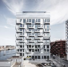"""The Silo"" adaptive reuse by COBE in Copenhagen Credit: Rasmus Hjortshõj"