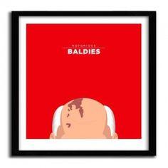 Notorious Baldie GORBACHEV by Mr Peruca #print