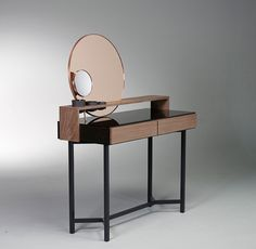 De Intuïtiefabriek #steel #copper #design #glass #mirror #wood #product