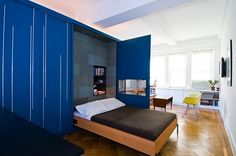 Unfolding 450 Square Foot Apartment by Normal Projects Architizer | Apartment Therapy New York