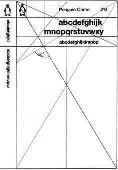 Penguin Grid, 1961 | Shiro to Kuro #grid #white #black