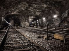 Underground Landscapes by Timo Stammberger