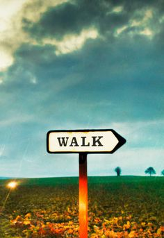 Walk This Way Art Print by Vaughan Oliver Easyart.com #inspiration #quote #words #art #print #print design #artprint #poster