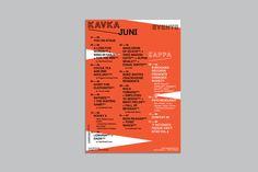 Studiostudio - Kavka Calendar poster