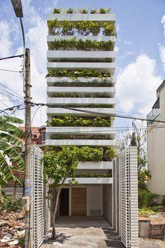 Võ Trọng Nghĩa: Stacking Green Thisispaper Magazine #stacking #house #green