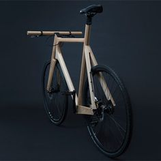 Wooden Bicycle_1 #wood #bicycle