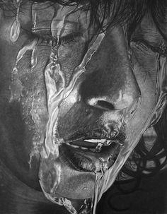 Hyperrealistic Pencil Portraits-3 #portrait #pencil #art #realistic