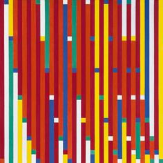 Richard Paul Lohse, Progressive Reduktion, 1942 43, Leihgabe der Richard Paul Lohse Stiftung Zürich #colour #pattern