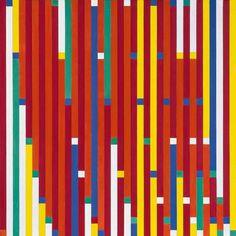 Richard Paul Lohse, Progressive Reduktion, 1942 43, Leihgabe der Richard Paul Lohse Stiftung Zürich #colour #pattern